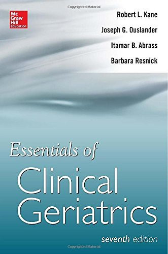 Essentials Of Clinical Geriatrics