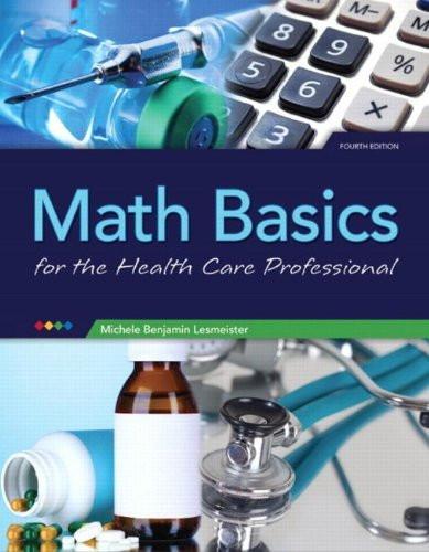 Math Basics For Healthcare Professionals