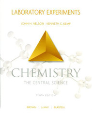 Chemistry The Central Science Laboratory Experiments