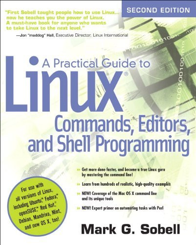 Practical Guide To Linux Commands Editors And Shell Programming