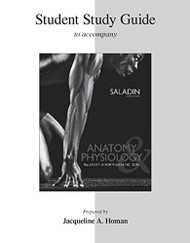 Student Study Guide Anatomy & Physiology by Jaque Homan