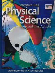 Prentice Hall Physical Science Concepts in Action