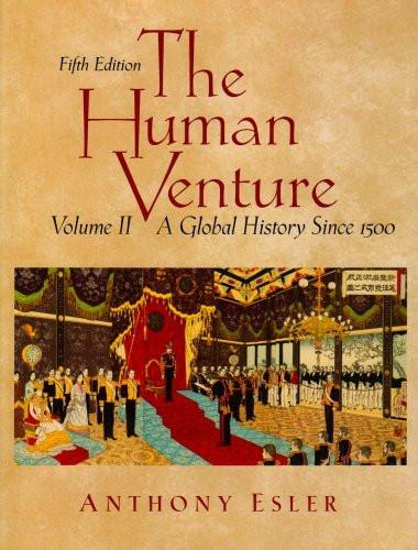 Human Venture Volume 2