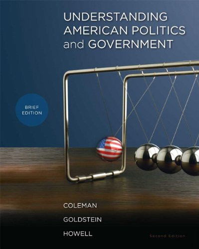 Understanding American Politics And Government