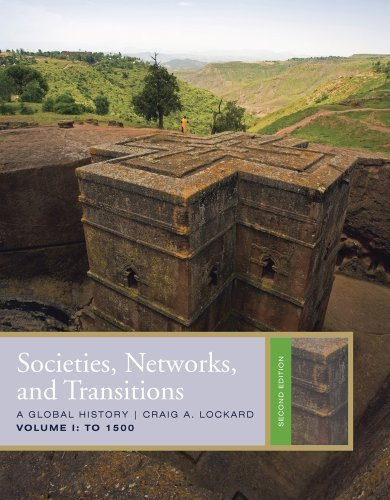 Societies Networks And Transitions Volume 1