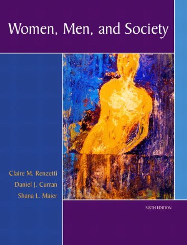 Women Men And Society