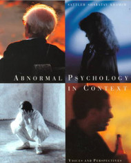 Abnormal Psychology In Context
