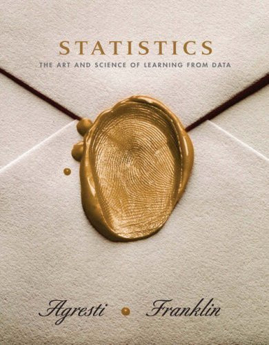 Statistics The Art And Science Of Learning From Data