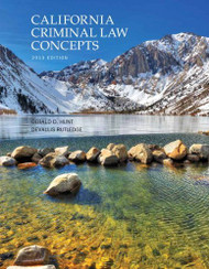 California Criminal Law Concepts