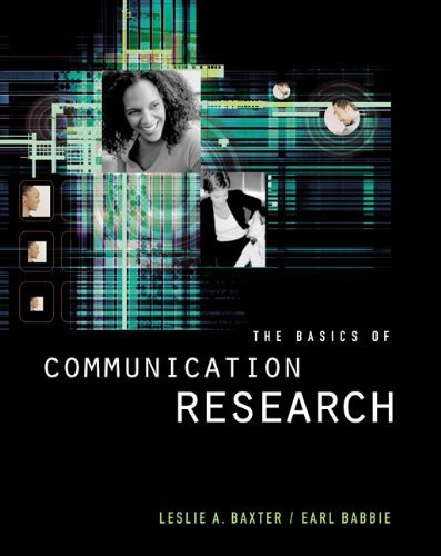 Basics Of Communication Research
