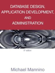 Database Design Application Development And Administration