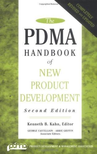 Pdma Handbook Of New Product Development