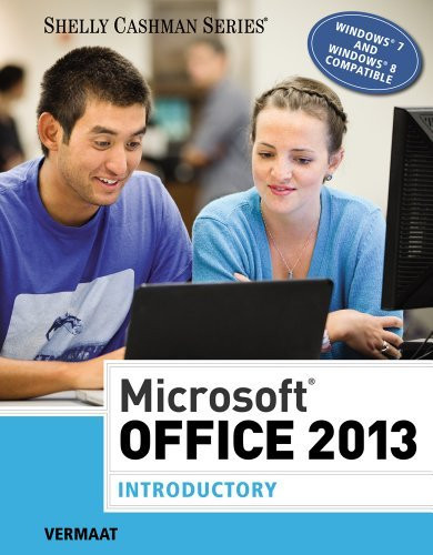 Microsoft Office 2013 Introductory