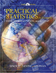 Practical Statistics by Example Using Microsoft Excel and Minitab