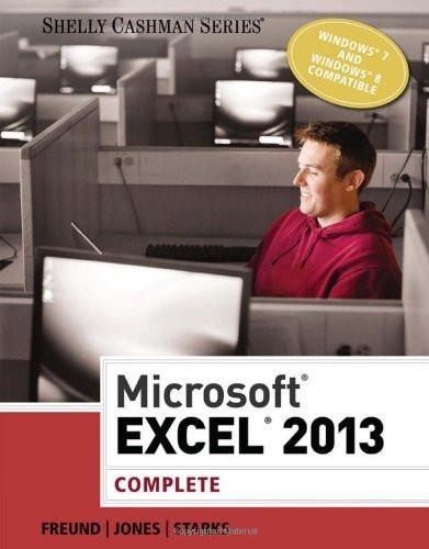 Microsoft Excel 2013 Complete