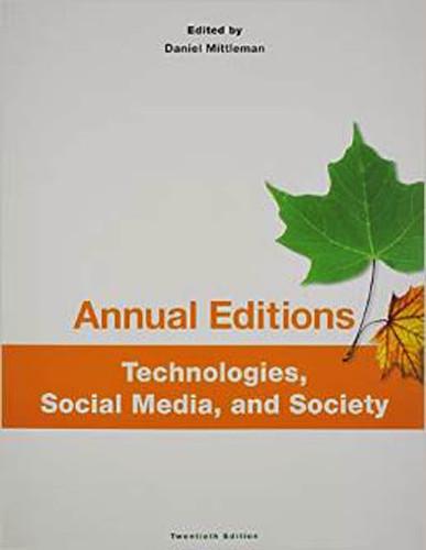 Technologies Social Media And Society