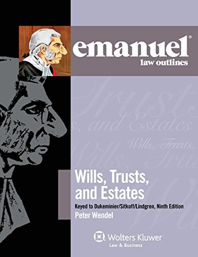 Emanuel Law Outlines Wills Trusts And Estates