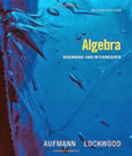 Algebra Beginning And Intermediate