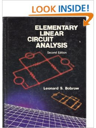Elementary Linear Circuit Analysis by Leonard S Bobrow