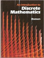 An Introduction To Discrete Mathematics by Steven Roman