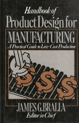Handbook Of Product Design For Manufacturing