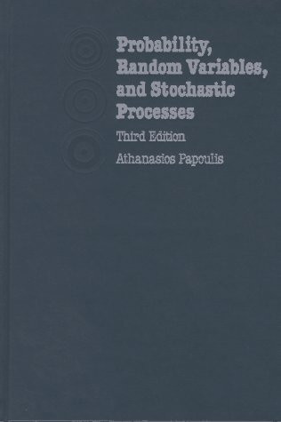 Probability Random Variables And Stochastic Processes