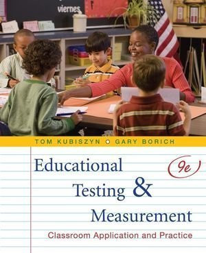 Educational Testing And Measurement