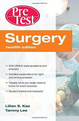 Surgery PreTest Self-Assessment and Review
