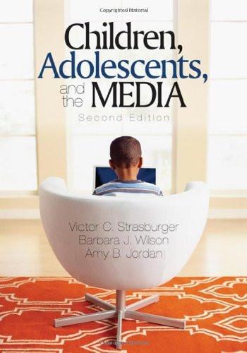 Children Adolescents And The Media