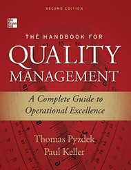 Handbook For Quality Management
