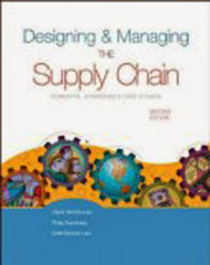 Designing And Managing The Supply Chain