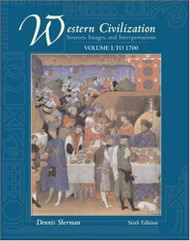 Western Civilization Volume 1 - Dennis Sherman