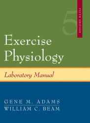Exercise Physiology Laboratory Manual - William Beam