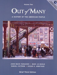 Out Of Many Brief Edition Volume 2 by John Faragher