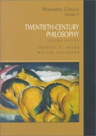 Philosophic Classics Volume V