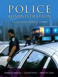 Police Administration by Charles Swanson