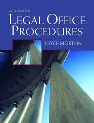 Legal Office Procedures  - Morton