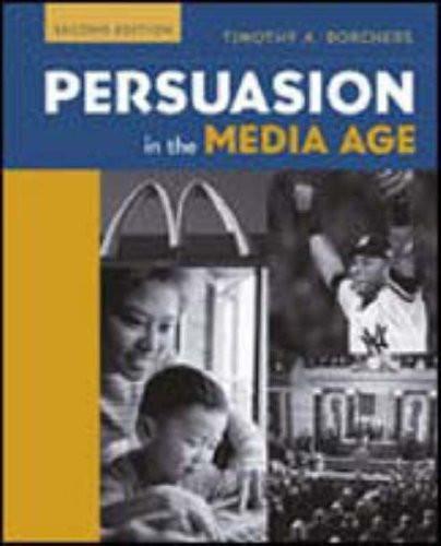 Persuasion In The Media Age