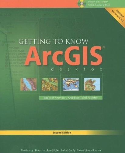 Getting To Know Arcgis For Desktop