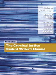 Criminal Justice Student Writer's Manual by William Johnson