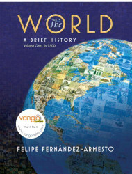 World A History Volume 1 to 1500  by Felipe Fernandez-Armesto