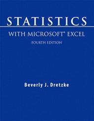 Statistics With Microsoft Excel - Dretzke