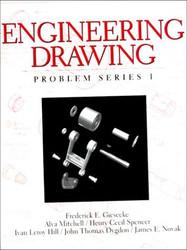 Engineering Drawing Problem Series 1