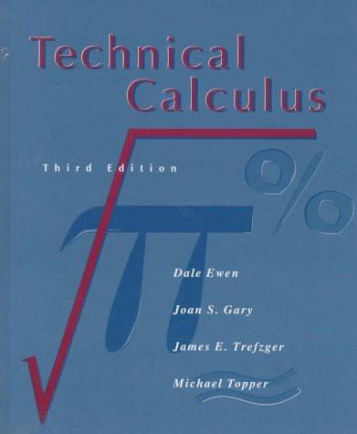 Technical Calculus