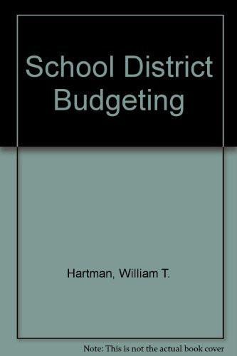 School District Budgeting