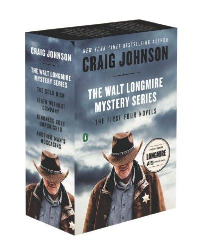 Walt Longmire Mystery Series Boxed Set Volumes 1-4