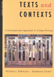 Texts And Contexts by William Robinson