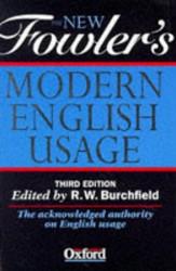 New Fowler's Modern English Usage