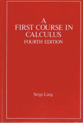 First Course In Calculus