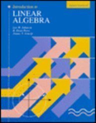 Introduction To Linear Algebra - Lee Johnson